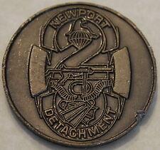 Naval Special Warfare SEAL Team Two Newport Detachment Navy Challenge Coin / 2