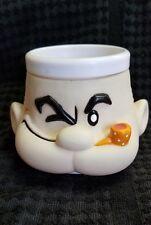 Popeye Mug Cup Collectible King Features Syndicated Sailor Man Plastic Mug