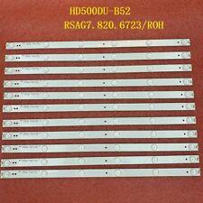 11pcs LED strip Hisense 50H7C Sharp LC-50N6000U HD500DU-B52 RSAG7.820.6723/ROH