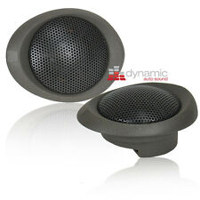 "Morel MT 230 1.1""  6 ohm Car Audio / Stereo Soft Dome Tweeters MT230 Pair New"