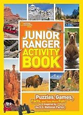Junior Ranger Activity Book: Puzzles, Games, Facts, and Tons More Fun...