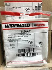 WireMold 6MAAP Audio/Video Device Plate ** New In Box, Free Shipping **