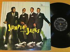 "MONO DOO WOP GROUP LP - THE JACKS - CROWN 5021 - ""JUMPIN' WITH THE JACKS"""