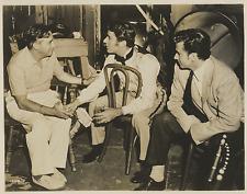 USA, Hollywood, M. Le Roy, P. Lawford, R. Stapley Vintage silver print Tirage