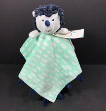 Oh Joy Target Hedgehog Lovey Plush Baby Security Blanket Green Gray New
