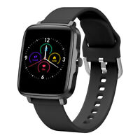 Nero Smart Watch Orologio Fitness Heart Rate KUMI KU1S for iPhone Huawei