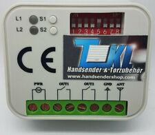 TKL Funkempfänger 433 MHz kompatibel zu CHAMBERLAIN 4330E 4332E 4333E 4335EML