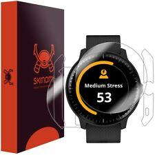 Skinomi FULL BODY Clear Skin+Screen Protector for Garmin Vivoactive 3 Music