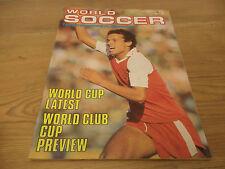December World Soccer Magazines