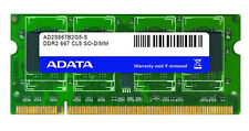 Módulo de 200 pines de 2 GB A datos DDR2-667 (PC2-5400) SO-DIMM