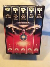 Vintage Star Trek The Movies 25th Anniversary Collectors Set By Paramount