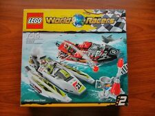 LEGO 8897 World Racers Jagged Jaws Reef 100% complete