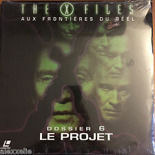 SEALED/NEW - LASERDISC - X-FILES: DOSSIER 6 LE PROJET VF