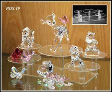 VETRO Display sta per POS cristallo Swarovski 19 x 2