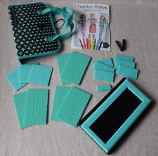 Fashion Plates Fashion Folio by Kahootz Clothing Design Drawing Kit