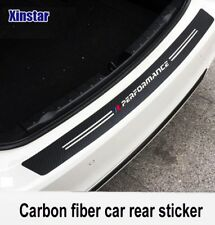 BMW Carbon Fibre M sport performance car bumper sticker Boot 3D 1 - 7 Series X1