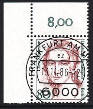 32) Berlin 80 Pf. Frauen  771 Eckrand Ecke 1 E1 EST Frankfurt m Gummi Perfekt