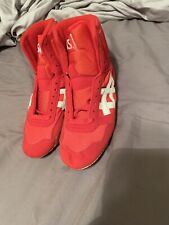 Size 5.5 Red And White Lyteflex Wrestling Shoe Rare