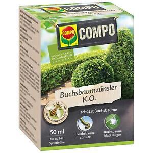 COMPO Buchsbaumzünsler K.O. Zünsler-Frei Blattsauger, 50 ml