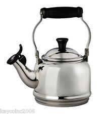 Le Creuset 1.25 qt. Stainless Steel Tea Kettle Le Creuset MFG #: SS9401