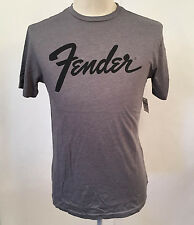 Gap Men's T-Shirt Fender Heather Grey Size XL NWT Guitar Clapton DeLonge Hendrix