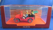 ancienne voiture jeep de tintin au pays de l or noir boite willys mb