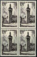 FRANCE 1955 Bloc de 4 n° 1025  Neuf ★★ luxe / MNH