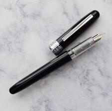 NEW Platinum Plaisir Black Fountain Pen Medium Nib