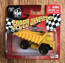 New And Sealed Speed Wheels Rugged Die Cast Metal Yellow Dump Truck Series XV