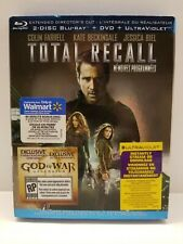 Total Recall extended: Blu-ray 4 disc set - Canadian + Warranty - Region Free