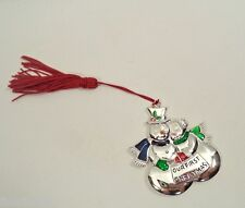 Lenox Our First Christmas Ornament in Box Snow Man Woman Couple Holdiay Minty