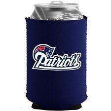 NEW ENGLAND PATRIOTS BEER SODA WATER CAN BOTTLE KOOZIE KADDY HOLDER NFL FOOTBALL