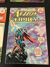 12 Dc Action Comics Superman Superhero Bronze Age. 1969-76