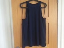 Marks & Spencer sleeveless top Navy size 20 New with Tsgs