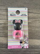 DISNEY MINNIE MOUSE PINK NAIL POLISH BRAND NEW AGE 3+