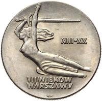 Polen - Gedenkmünze - 10 Zlotych 1965 - 700 Jahre Warschau - Nike