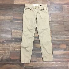 H&M LOGG Juniors Tan Straight Khaki Pants Size 8 Regular Size 8 - Length 27 G52