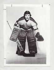 GILLES MELOCHE 1973-74 CALIFORNIA GOLDEN SEALS ORIGINAL 6x8 NHL PRESS WIRE PHOTO