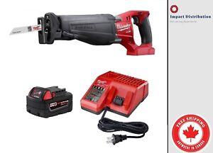 New Milwaukee 2720-21 M18TM FUELTM SAWZALL® Reciprocating Saw Kit