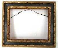 ART DECO, NOUVEAU  GILDED WOOD FRAME FOR PAINTING, PRINT, PHOTO 10  x 8 INCH