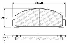 Rr Semi Met Brake Pads  Centric Parts  102.00710