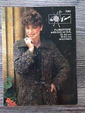 """EMU Knitting Pattern: Femme à Col Veste, 32-44"""", 3519"""