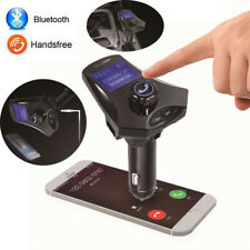 Bluetooth Car FM Transmitter  Adapter Kit MP3 Player Hands free Radio USB Charge