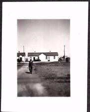 PHOTOGRAPH 1936 CANADIAN PACIFIC RAILROAD BUILDING TRANSCONA WINNIPEG OLD PHOTO