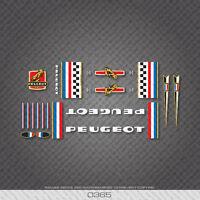 0365 Peugeot Vélo Frame Décalcomanies