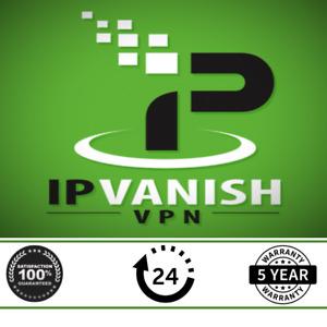 Premium IPVanish  VPN ⭐ 5 Years Warranty &  5 Devices ⭐ 24/7 Support ⭐