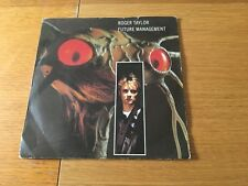 """ROGER TAYLOR - FUTURE MANAGEMENT - 1981 7"""" P/S EX - LOTS MORE QUEEN IN MY SHOP!!"""