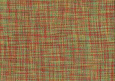 Avon Fabric Aqua  Red Yelloe  Woven  Drapery Upholstery