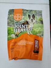 New listing Bayer Synovi G4 Joint Health Chew Soft 60ct Dog Supplement Vitamin Snack New
