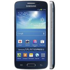 SIM Free Samsung Galaxy Express 2 Unlocked 8GB Android Smartphone - Rigel Blue